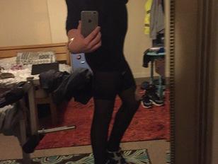 Young Crossdresser Posing