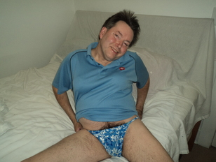 Walgreens Posing After Work in Panties and Bra
