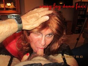 Sissy Fag Dana Foxx Cocksucker