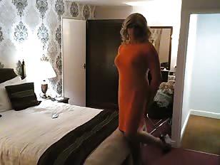 AmandaCross New Orange Dress