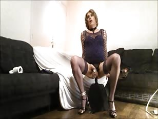 In Chastity Dildoing My Ass