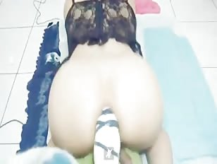 Destroying My Ass With Huge Dildo