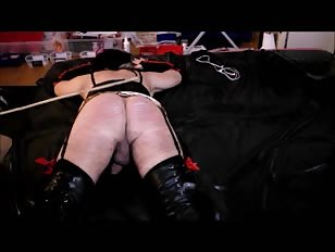 Sissy Crossdresser Gets Spanked and Punished