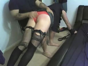 Gemma cd slut got machine fucked and spanked