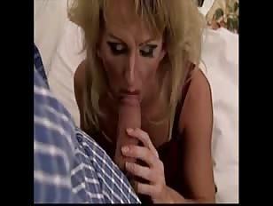 Naughty Mature Crossdresser Sucking