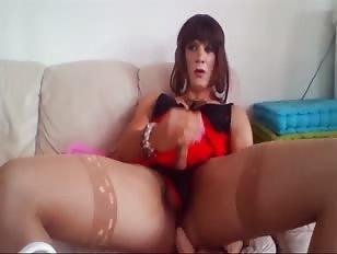 Huge Dildo in My Ass
