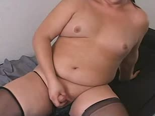 Chubby Amateur CD Jerking