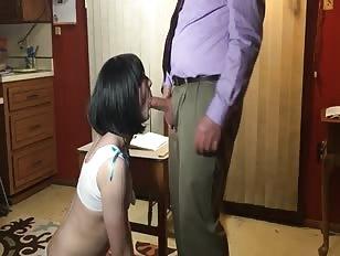 Sissy Schoolgirl Wants Oral Exam