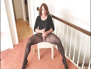CD Ashley Lynn Jerks Dick on the Chair