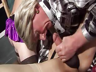 Amateur Crossdress Orgy