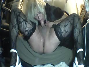 Homemade Fuck and Blowjob for Crossdressing BF
