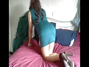 KaylaGirl80 - Green Dress